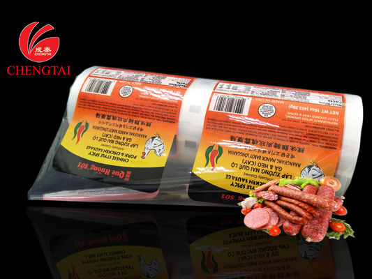 16 oz Sausage Packaging Films / Vaccum Plastic Films for Meat